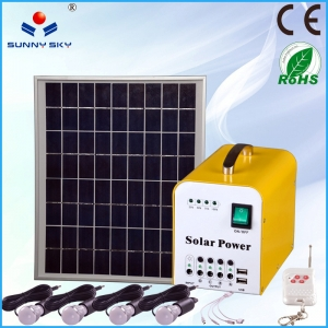 Portable Home Solar Power System For Home Light TY-055B