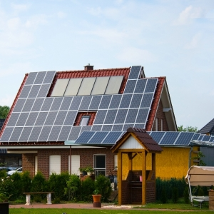 Solar System For Electricity At Homes