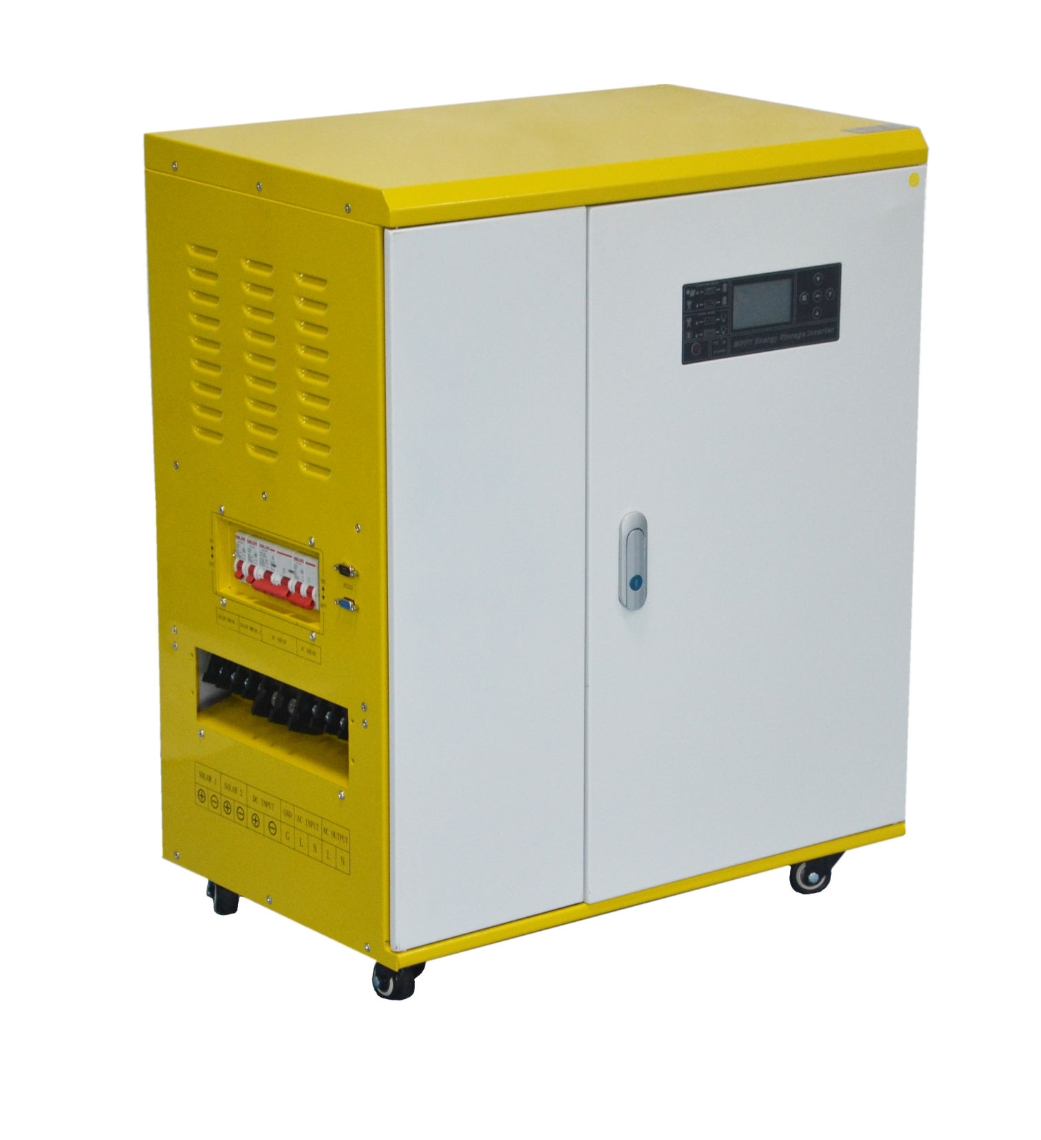 How to set the working mode of Didisolar solar inverter?