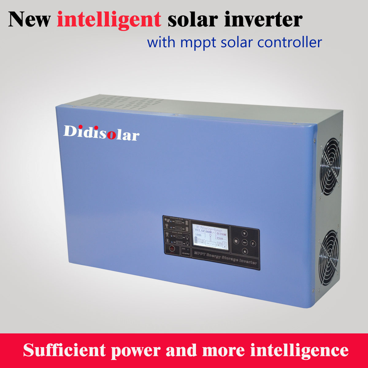 How to set up the lithium battery for Didisolar solar inverter