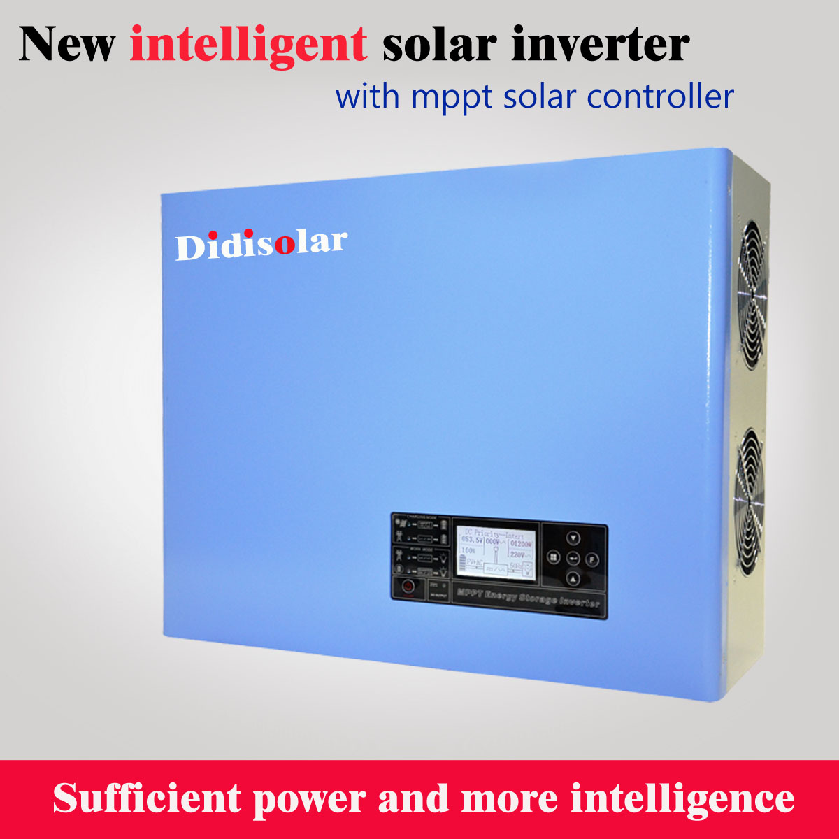 How to set the time and date of solar inverter?