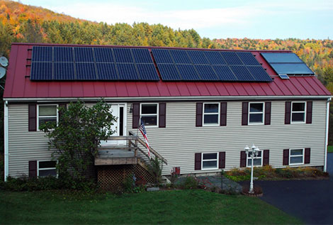 Solar power system and intelligent home system perfect combination