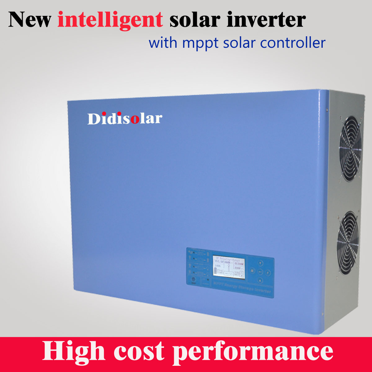 How does the Didisolar solar inverter query the operation information?